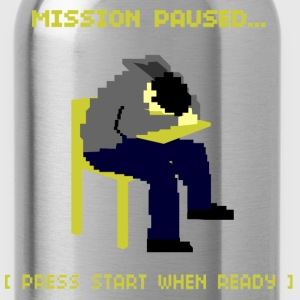 Paused T-Shirts - Water Bottle
