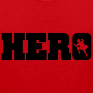 hero T-Shirts - Men's Premium Tank