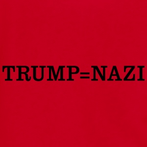Trump = Nazi Sportswear - Unisex Fleece Zip Hoodie by American Apparel