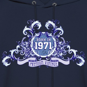 042016_born_in_the_year_1971b T-Shirts - Men's Hoodie