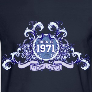 042016_born_in_the_year_1971b T-Shirts - Men's Long Sleeve T-Shirt