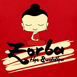 Zorba The Buddha Hoodies - Men's Premium Tank