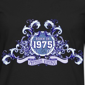(042016_born_in_the_year_1975b) T-Shirts - Men's Premium Long Sleeve T-Shirt
