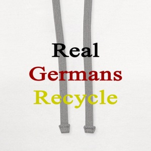 real_germans_recycle T-Shirts - Contrast Hoodie