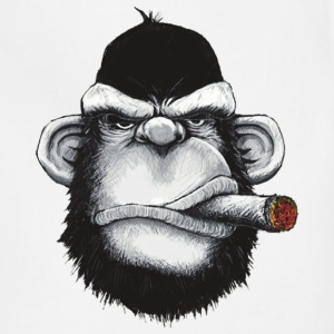 Gorilla Smoking Cigar - Adjustable Apron