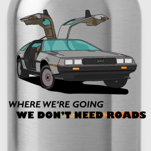 Back to Future - Water Bottle