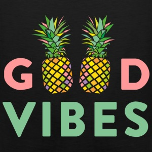 AD GOOD VIBES PINEAPPLES Bags & backpacks - Men's Premium Tank