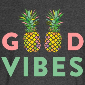 AD GOOD VIBES PINEAPPLES T-Shirts - Men's Long Sleeve T-Shirt