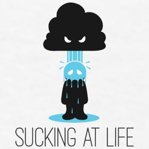 Sucking at Life Mugs & Drinkware - Men's T-Shirt