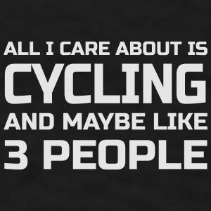 Care about Cycling Mugs & Drinkware - Men's T-Shirt
