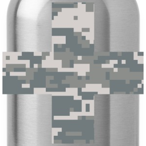 Military Swiss Cross - Water Bottle