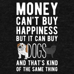 Dogs Money can't Buy Unique Gift Idea T-shirt Mugs & Drinkware - Unisex Fleece Zip Hoodie by American Apparel