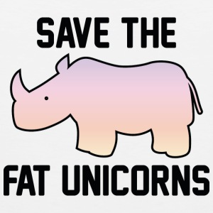 Save The Fat Unicorns - Men's Premium Tank