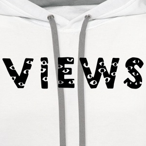 Views From The Six Long Sleeve Shirts - Contrast Hoodie