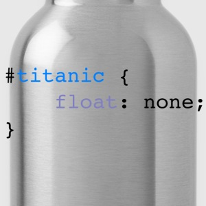 Titanic code - Water Bottle