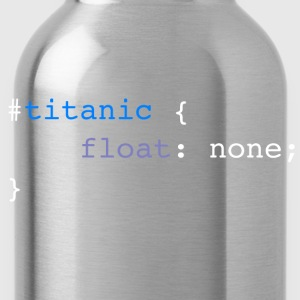 Titanic code white - Water Bottle