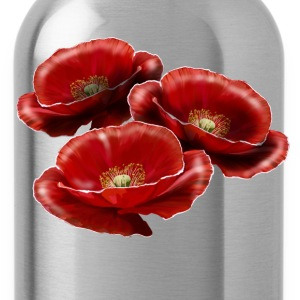 Poppy Women's T-Shirts - Water Bottle