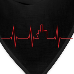 The finger heartbeat - Bandana