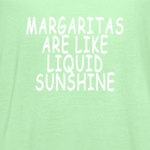 margaritas_are_like_liquid_sunshine_ - Women's Flowy Tank Top by Bella