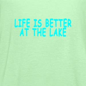 life_is_better_at_the_lake - Women's Flowy Tank Top by Bella