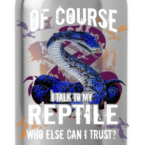 Reptile - I can trust - Water Bottle