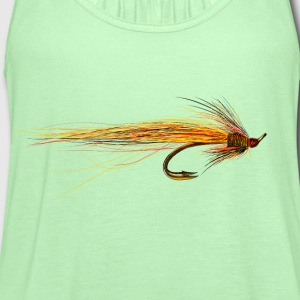 fly fishing hook Women's T-Shirts - Women's Flowy Tank Top by Bella
