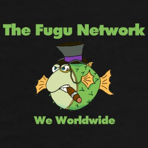 The Fugu Network Coffee Mug *Left Handed* - Men's Premium T-Shirt