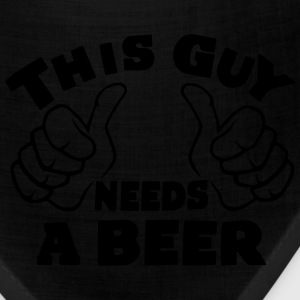 THIS GUY NEEDS A BEER - AS SEEN ON THE INTERNET - Bandana