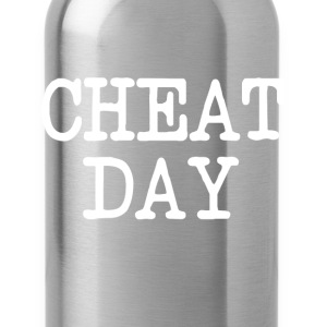 Cheat Day funny diet shirt - Water Bottle