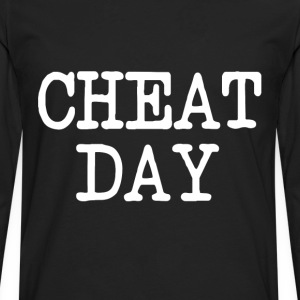 Cheat Day funny diet shirt - Men's Premium Long Sleeve T-Shirt