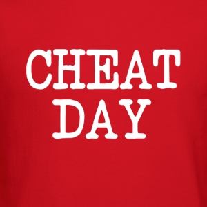 Cheat Day funny diet shirt - Crewneck Sweatshirt