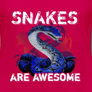 Snakes - Are Awesome - Women's Premium Long Sleeve T-Shirt