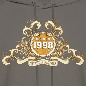 042016_born_in_the_year_1998a T-Shirts - Men's Hoodie