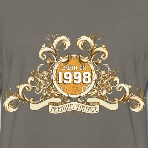042016_born_in_the_year_1998a T-Shirts - Men's Premium Long Sleeve T-Shirt
