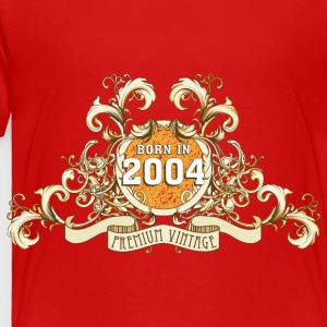 042016_born_in_the_year_2004a Kids' Shirts - Toddler Premium T-Shirt