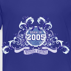 042016_born_in_the_year_2005b Kids' Shirts - Toddler Premium T-Shirt