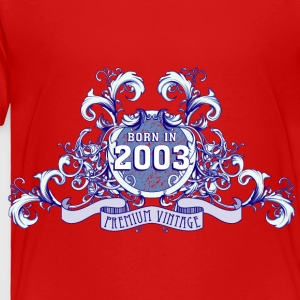 042016_born_in_the_year_2003b Kids' Shirts - Toddler Premium T-Shirt