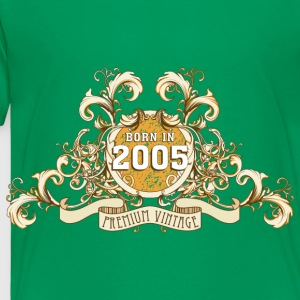 042016_born_in_the_year_2005a Kids' Shirts - Toddler Premium T-Shirt