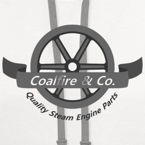 Coalfire & Co - Steam engine parts - Contrast Hoodie