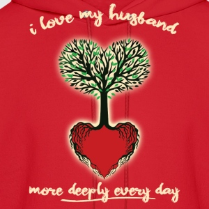 Husband Love More Each Day - Men's Hoodie