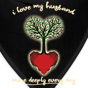Husband Love More Each Day - Bandana
