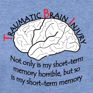 TBI - Short Term Memory T-Shirts - Women's Wideneck Sweatshirt