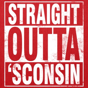 STRAIGHT OUTTA 'SCONSIN Tanks - Tote Bag