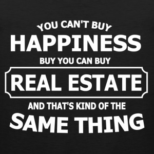 REAL ESTATE HAPPINESS T-Shirts - Men's Premium Tank