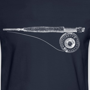 fishing rod T-Shirts - Men's Long Sleeve T-Shirt