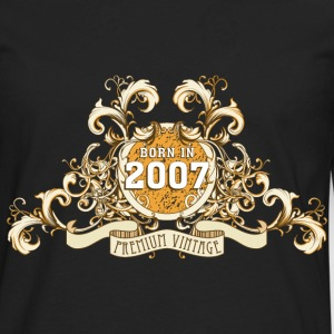 042016_born_in_the_year_2007a T-Shirts - Men's Premium Long Sleeve T-Shirt