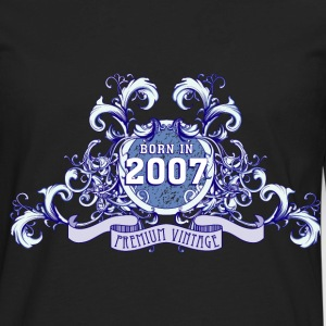 042016_born_in_the_year_2007b T-Shirts - Men's Premium Long Sleeve T-Shirt