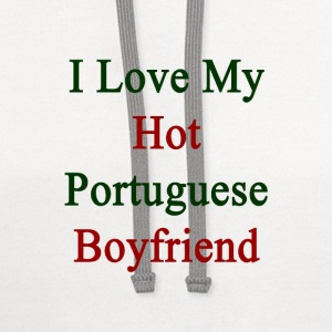 i_love_my_hot_portuguese_boyfriend Women's T-Shirts - Contrast Hoodie