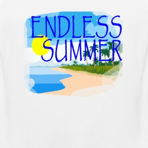 endless_summer_tshirt - Men's Premium Tank