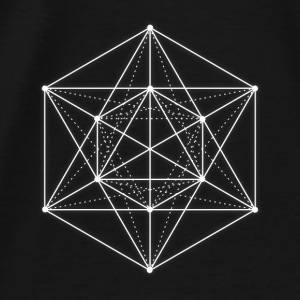 Sacred geometry / Minimal Hipster Line Art Bags & backpacks - Men's Premium T-Shirt